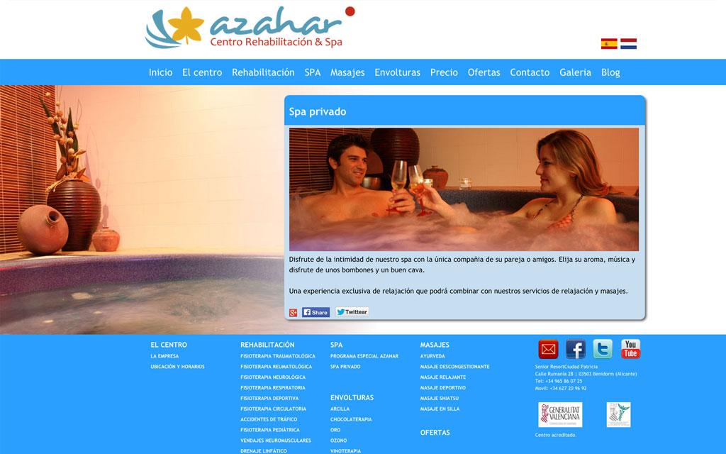 Azahar Centro de Rehabilitación y SPA
